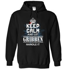 [Best stag t shirt names] Let GRIBBEN handle it Free Ship Hoodies, Funny Tee Shirts
