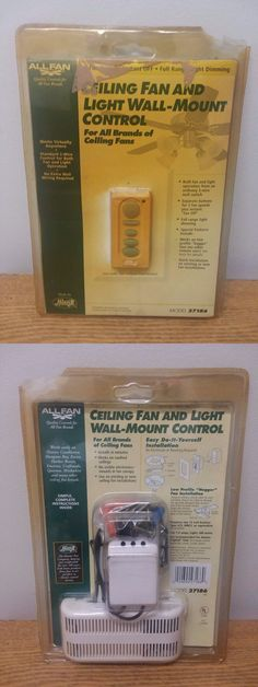 Lighting Parts and Accessories 20705: New - Hunter Allfan Ceiling Fan And Light Wall-Mount Control-Model 27186 -> BUY IT NOW ONLY: $33.99 on eBay!