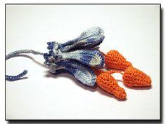 Flower Pendant crochet pattern