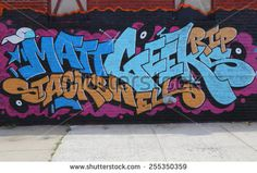 NEW YORK - JULY 24, 2014: Graffiti art at East Williamsburg in Brooklyn. Outdoor art gallery known as the Bushwick Collective has most diverse collection of street art in Brooklyn
