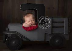 Newborn Photography Prop Newborn Photo Prop Truck by MrAndMrsAndCo, $220.00