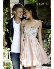 Sherri Hill 11049 Nude Prom Dress