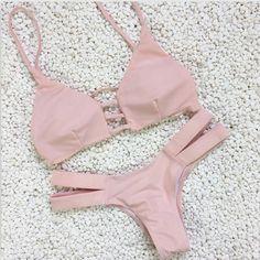 Bikini 2016 Thong Bikinis Bottom Push Up Swimsuit Bathing Suits For Women Micro Mini Bikini Brazilian Biquini