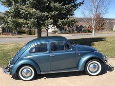 1958 Volkswagen Beetle Volkswagon Van, Beetle For Sale, Vw Classic, Vw Cars, Car Wheels, Vw Camper, Dream Garage, Motor Car, Automobile
