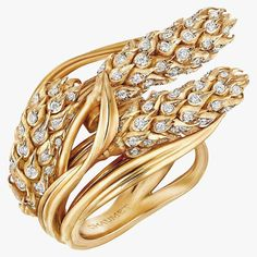 Кольцо L'Épi de Blé от Chaumet с бриллиантами