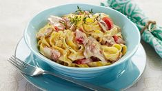 Tin, Bacon, Spaghetti, Pasta, Ethnic Recipes, Food, Pewter, Essen, Meals