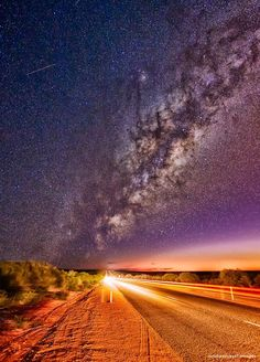 The stunning Milky Way.