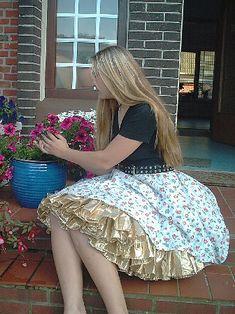 Petticoats, Crossdressers, Fun Things, Rockabilly, Retro Vintage, Girly, Slip On, Pretty, Skirts