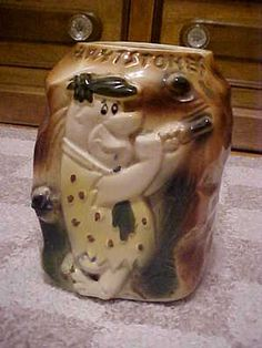 American Bisque Co. - Vintage Flintstones Cookie Jar