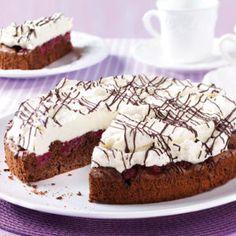 Schokoladen-Kirsch-Kuchen Muffins, Pie, Desserts, Cakes, Food, Cherry Cake, Cherries, Chocolate, Essen