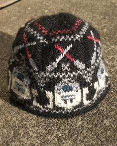 star wars fair isle knit hat