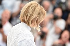 Hair Lookbook: Lea Seydoux wearing B.o.B (2 of 65). Lea Seydoux looked cute with her mussed-up, center-parted bob at the Cannes photocall for 'It's Only the End of the World.'
