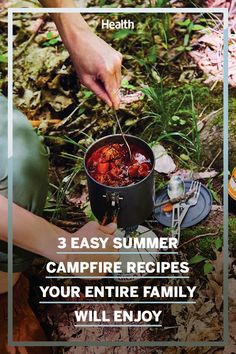 These easy summer campfire recipes include a delicious chili recipe perfect for the family. Campfire Recipes, Campfire Food, Granola Bites, Healthy Summer Recipes, Spaghetti Squash Recipes, Grilling Tips, Sweet Potato Recipes, Camping Meals, Chili Recipes