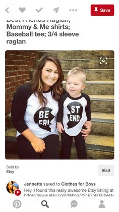 15d241106 10 Best Mother & daughter shirts images | Sons, Mother daughters ...
