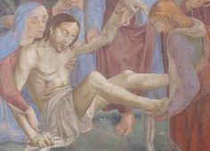 Ghirlandaio: Deposizione (affresco / fresque). Firenze / Florence, Ognissanti