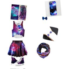 galaxy by every-thing-flawless on Polyvore