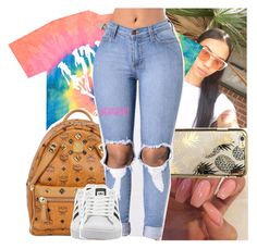 """last days of summer"" by lamamig ❤ liked on Polyvore featuring UNIF, Skinnydip, MCM and adidas"