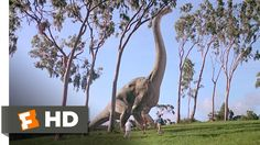1- Jurrassic Park (1993)- Why watch it?  Because it's potentially the biggest, most eagerly awaited reveal shot in cinematic history. To tackle the task of creating dinosaurs, ILM scanned in chunks of a model brachiosaurus to create patch meshes, then used custom program SOCK (Surface Original with Continuous sKin), developed for Terminator 2, to create an overall mesh.  A new app called Envelope was also created, enabling the underlying points to be manipulated
