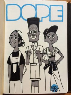 """TEN I watched the movie """"DOPE"""" months ago and it's very good. characters with their 90′s fashion and BMX are so … dope ! Gotta watch it too !"""