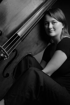 Tamara Murphy. My favourite Double Bass player.