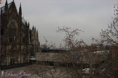 Cologne Cathedral - Kölner Dom - UNESCO World Heritage Site - near Hohenzollern-Bridge - view from Dom Hotel - Cologne/Köln, Germany/Deutschland