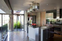 kitchen area - House in Africa from Nico van der Meulen Architects