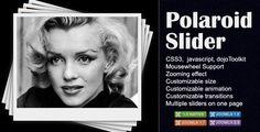 Polaroid Slider for Joomla . Polaroid slider mimics the feeling of the old-style polaroid photographs. It's a powerful javascript-css slider using and dojoToolkit. You don't need any programming skills to implement it on your Joomla! Internet Explorer, Drupal, Wordpress Plugins, As You Like, Sliders, Polaroid, Coding, Scripts