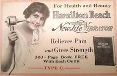 10 Old Medical Practices Worse Than the Disease - Women's frustration was misinterpreted as hysteria, the cure for which was first a doctor applying oil to the vagina and massaging it with their fingers, and later the application of a vibrator. Vintage Advertisements, Vintage Ads, Vintage Stuff, Vintage Photos, Different Kinds Of Love, Hamilton Beach, Medical Field, Medical Science, Cleaning