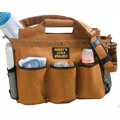 Toolbag Diaper Bag For Daddy - Make him feel manly!
