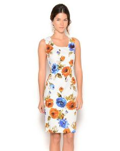 D&G Sleeveless Floral Dress - Made in Italy