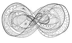 Lemniscate coloring plate - make your own