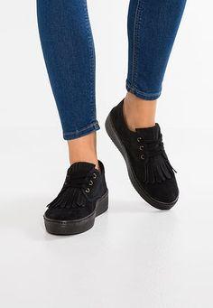 HORMA BOGGIE - Zapatos con cordones - black