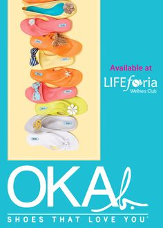 OKAb shoes available in our LIFEboutique!!