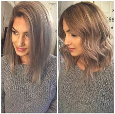 nice Lob haircut. Long bob. A-Line. | Done by: thingsbytams...