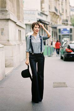 Designer Ulyana Sergeenko, before A Show, Paris, September 2013