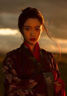 """fouryearsofshades:  """"  乔织工作室  """"  Traditional Chinese Hanfu - Type: Ruqun/襦裙."""
