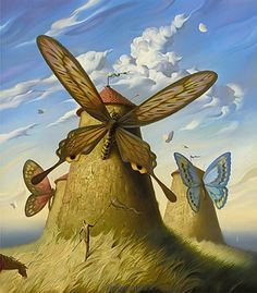 Land Of Cervantes by Vladimir Kush.