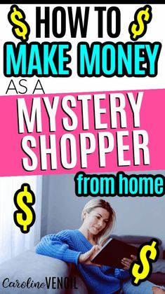 Do you want to make more money from the comfort of your home? Here are the steps to take to work from home as a Mystery Shopper. #makemoneyfromhome #moneymakingtips #howtomakemoneyonline #makingmoneyonline #mysteryshopper #mysteryshopperjobs #mysteryshopperjobsfromhome