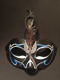 This mask was made with the gentlemen in mind but may fit in a number of differing environments.
