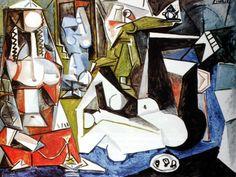 Picasso - Les femmes d'Alger, 1955