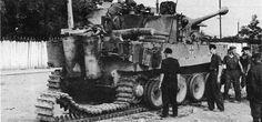 Tiger with Verladeketten of the 3rd battalion Panzer Regiment GrossDeutschland