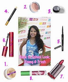 Becky G. Makeup for Back to School with Cover Girl... Check out the details on http://www.alessandragonzalez.com