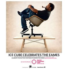 Icecube and Eames..who would have thought!