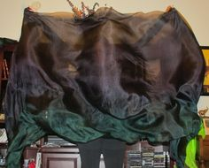 Sahariah's Silk Belly Dance Veil Rectangle 3 by SilksbySahariah, $39.00