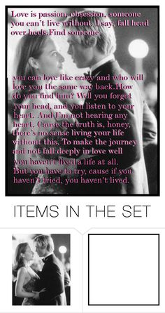 """If you haven't tried... you haven't lived"" by heartandsoul ❤ liked on Polyvore featuring art"