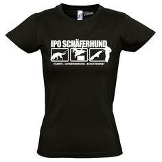 T-Shirt Women Hunde IPO SCHÄFERHUND HUNDESPORT Siviwonder bis XXL/42