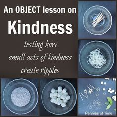Object Lesson on Acts of Kindness   Pennies Of Time: Teaching Kids to Serve
