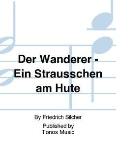 Der Wanderer - Ein Strausschen am Hute