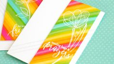 Overlapping stamped images to create new colors and a bold background. **SUPPLIES ARE LINKED TO STORES BELOW **For more info: http://jmink.me/1orA7cO ------ ...