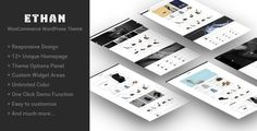 Ethan is a Responsive WooCommerce WordPress Theme that allows you to enjoy the pleasant aspects of creating and running a site. It takes care of the difficult, boring technical aspects, as the user...